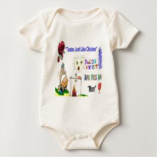 Aprilscherz-Tagesmamma Baby Strampler