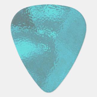 Aqua-blauer Glasentwurf Plektrum