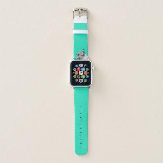 Aqua der Mops-Liebe-| gefärbt Apple Watch Armband