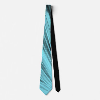 Aqua-eckige Linien - Hals-Krawatte Bedruckte Krawatte