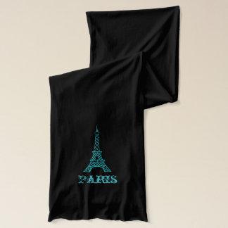 Aqua-Eiffelturm-Schal Schal