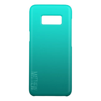 Aqua-gradiant personalisierter Case-Mate samsung galaxy s8 hülle