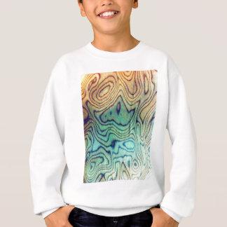 Aqua-Holz Sweatshirt