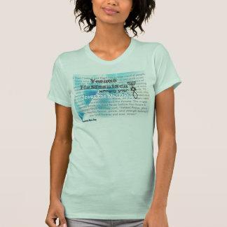 Aqua Jesus der Messiah T-Shirt