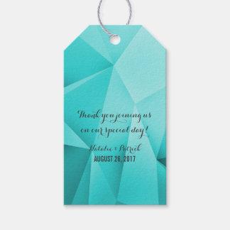 Aqua-Juwel tont Hochzeits-Geschenk-Umbauten Geschenkanhänger