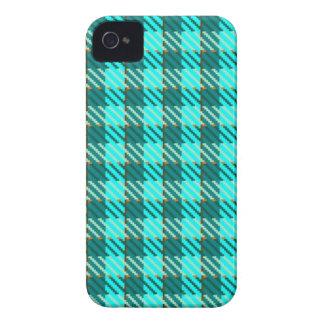 Aqua-Karo iPhone 4 Case-Mate Hüllen