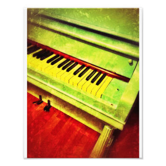 Aqua-Klavier Kunstphoto