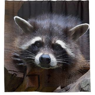 Aqua_Raccoon_20180102 Duschvorhang