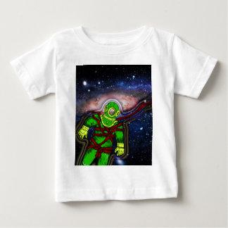 Aqua-Raum-Mann Baby T-shirt