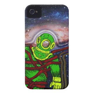 Aqua-Raum-Mann iPhone 4 Hüllen