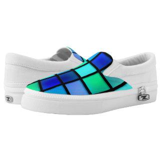 Aqua Slip-On Sneaker