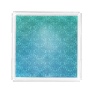 Aqua-Spitze Acryl Tablett