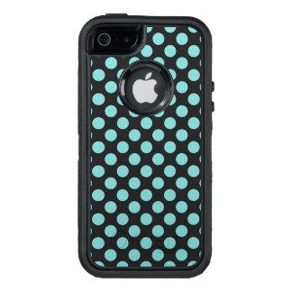 Aqua-Tupfen OtterBox iPhone 5/5s/SE Hülle