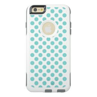 Aqua-Tupfen OtterBox iPhone 6/6s Plus Hülle
