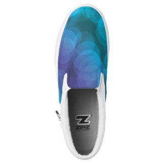 Aqua und lila Schuhe für Frauen
