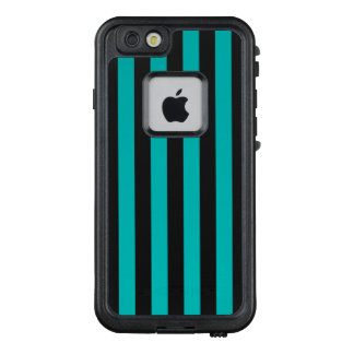 Aqua-vertikale Streifen LifeProof FRÄ' iPhone 6/6s Hülle