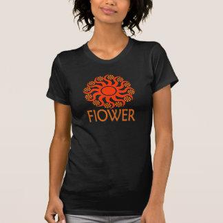aqualights SONNE-BLUMEN-Rot T-Shirt