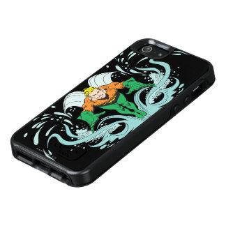 Aquaman, das vorwärts losstürzt OtterBox iPhone 5/5s/SE hülle