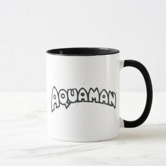 Aquaman Schmutz-Schwarz-Logo 2 Tasse