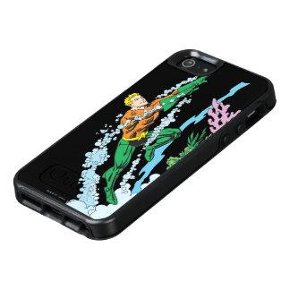Aquaman springt über Koralle OtterBox iPhone 5/5s/SE Hülle