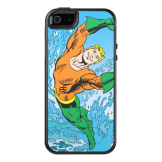 Aquaman springt vom Meer heraus OtterBox iPhone 5/5s/SE Hülle