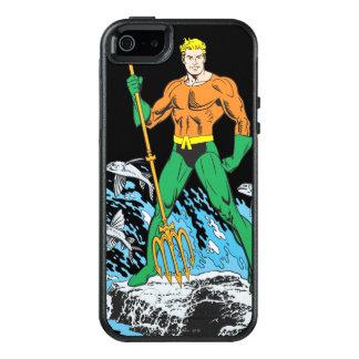 Aquaman steht mit Heugabel OtterBox iPhone 5/5s/SE Hülle