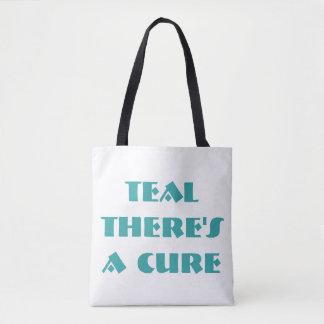 Aquamarin gibt es eine Heilung (doppelseitige Tasche