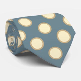 Aquamarin und Sahne Krawatte
