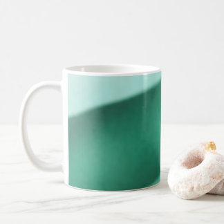 Aquamarin und Türkis Kaffeetasse