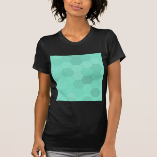 Aquamarine-Hexagone T-Shirt