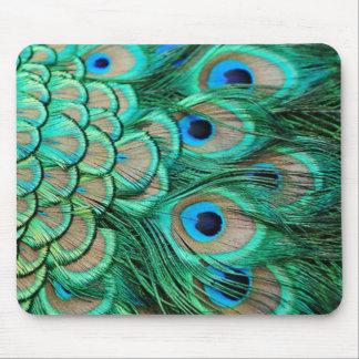 aquamarine Pfauhochzeit des romantischen Vintagen Mousepad