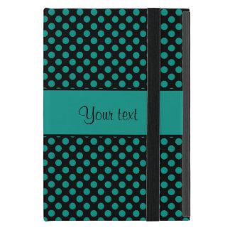 Aquamarine Polka-Punkte Etui Fürs iPad Mini