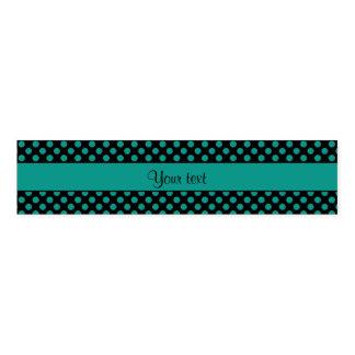 Aquamarine Polka-Punkte Serviettenband