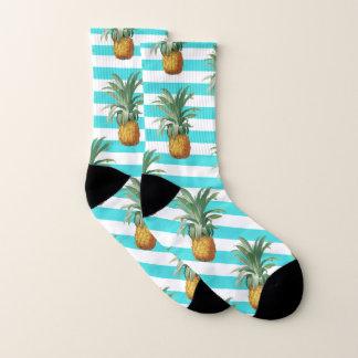 aquamarine Streifen der Ananas Socken
