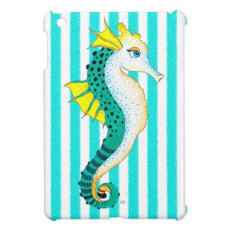 aquamarine Streifen des Seepferds iPad Mini Hülle