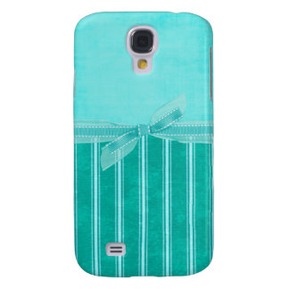 Aquamarine Streifen Galaxy S4 Hülle
