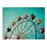 Aquamarine-Traum - Karnevals-Fotografie-Postkarte