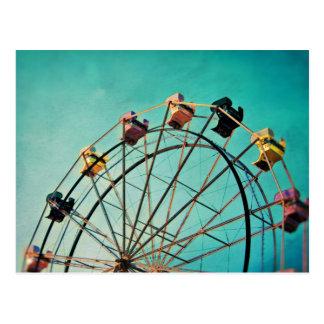 Aquamarine-Traum - Karnevals-Fotografie-Postkarte Postkarte