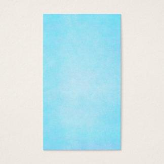 Aquamariner blauer heller visitenkarte