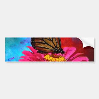 aquamariner böhmischer Schmetterling des Autoaufkleber