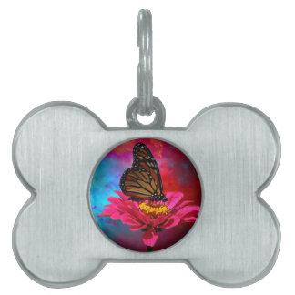 aquamariner böhmischer Schmetterling des Tiermarke