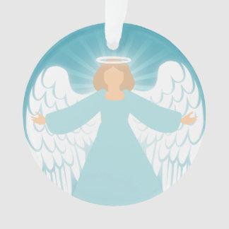 Aquamariner Engel Ornament