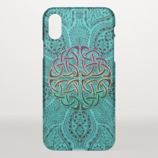 Aquamariner keltischer Mandala iPhone X Fall iPhone X Hülle