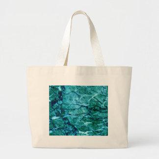 Aquamariner Marmor Jumbo Stoffbeutel