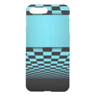 Aquamariner schwarzer iPhone 8 plus/7 plus hülle