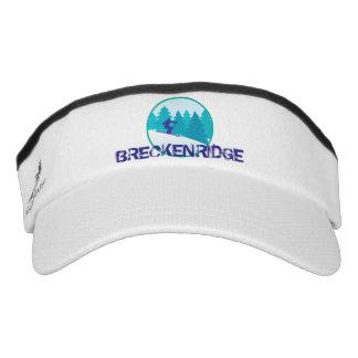 Aquamariner Ski-Kreis Breckenridges Visor