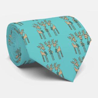 Aquamarines Band-Ren Krawatte