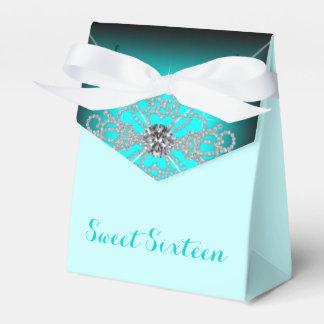 Aquamarines blaues Geburtstags-Party Geschenkkarton