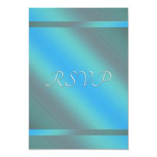 Aquamarines blaues UAWG 8,9 X 12,7 Cm Einladungskarte