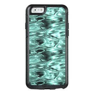 Aquamarines grünes flüssiges Metallmetallisches OtterBox iPhone 6/6s Hülle